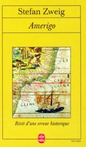 Amerigo- Récit d'une erreur historique - Stefan Zweig   Showmesound.org