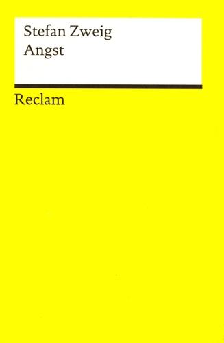 Stefan Zweig - Angst.