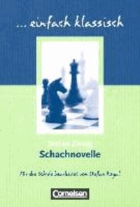 Deedr.fr einfach klassisch: Schachnovelle - Empfohlen für das 9./10. Schuljahr. Schülerheft Image