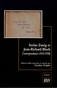 Est-il possible de télécharger des livres Google Stefan Zweig et Jean-Richard Bloch  - Correspondance (1912-1940) 9782364413450 PDF ePub par Stefan Zweig, Jean-Richard Bloch (Litterature Francaise)