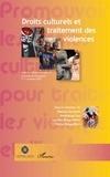 Stefania Gandolfi et Abdoulaye Sow - Droits culturels et traitement des violences.