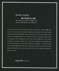 Stefania Kenley - Du fictif au réel - Dix essais sur le Pop art anglais et le Nouveau brutalisme en architecture.