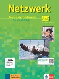 Stefanie Dengler et Paul Rusch - Netzwerk / Kurs- und Arbeitsbuch A2, Teilband 2 mit 2 Audio-CDs und DVD - Deutsch als Fremdsprache.