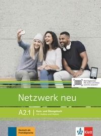 Stefanie Dengler et Paul Rusch - Netzwerk neu A2.1 - Kurs- und Ubungsbuch.