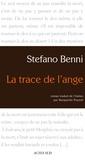 Stefano Benni - La trace de l'ange.