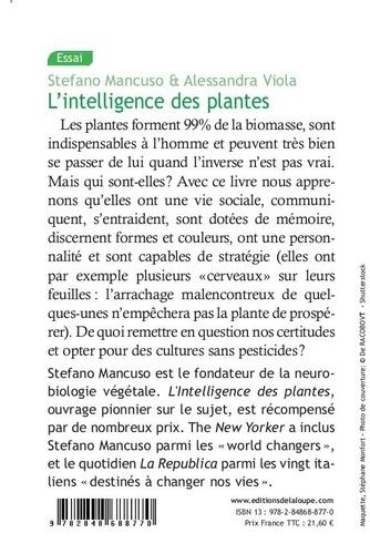 L'intelligence des plantes Edition en gros caractères