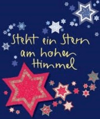 Steht ein Stern am hohen Himmel.