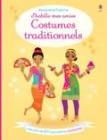 Stella Baggott et Emily Bone - Costumes traditionnels - Avec plus de 250 autocollants réutilisables.