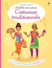 Stella Baggott et Emily Bone - Costumes traditionnels - Avec plus de 250 autocollants réutilisables.