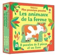Stella Baggott - Les animaux de la ferme - Avec 8 puzzles de 2 pièces.