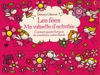 Stella Baggott et Kelly Cottrell - Ma valisette d'activité Les fées - Contient quatre livres et de nombreux autocollants.