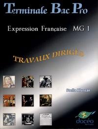 Expression française MG 1 Tle Bac Pro - Travaux dirigés.pdf