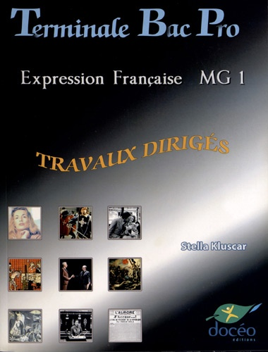 Expression Francaise Mg 1 Tle Bac Pro Travaux Diriges