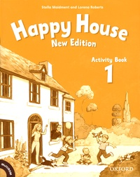 Stella Maidment et Lorena Roberts - Happy House 1 - Activity Book. 1 Cédérom