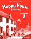 Stella Maidment et Lorena Roberts - Happy House 2 - Activity Book. 1 Cédérom
