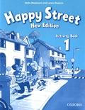 Stella Maidment et Lorena Roberts - Happy Street 1 - Activity Book. 1 CD audio