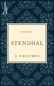 Stendhal - Coffret Stendhal - 4 textes issus des collections de la BnF.
