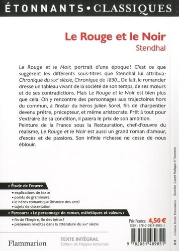 """Le Rouge et le Noir. Programme nouveau Bac 2021 1re. Parcours """"Le personnage de roman, esthétiques et valeurs"""""""