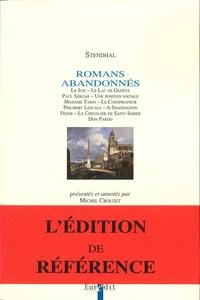 Stendhal - Romans abandonnés.