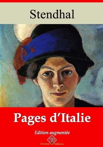 Pages d'Italie – suivi d'annexes. Nouvelle édition 2019