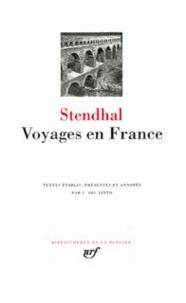 Stendhal - Voyages en France.