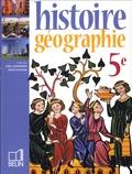 Stéphan Arias et Jean-Luc Carton - Chaudron-Knafou Histoire géographie 5e.