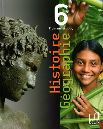 Stéphan Arias et Eric Chaudron - Histoire Géographie 6e - Programme 2009, petit format.
