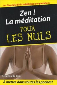 Kindle books forum télécharger Zen !  - La méditation pour les nuls PDF in French 9782754000000