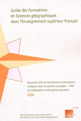 Stéphan Golcberg - Guide des formations en Sciences géographiques dans l'Enseignement supérieur français.
