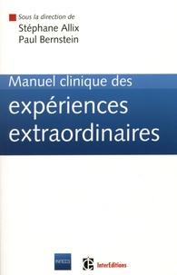 Deedr.fr Manuel clinique des expériences extraordinaires Image