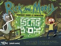 Stéphane Anquetil - Escape box Rick et Morty - Panique dans le Minivers. Avec 40 cartes, 1 poster.