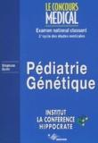 Stéphane Auvin et  Collectif - Pédiatrie-Génétique - Examen national classant 2e cycle des études médicales.