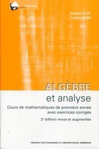 Checkpointfrance.fr Algèbre et analyse - Cours mathématiques de première années avec exercices corrigés Image