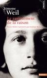 Stéphane Barsacq - Simone Weil - Le ravissement de la raison.