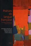 Stéphane Bataillon et Sylvestre Clancier - Poésies de langue française - 144 poètes d'aujourd'hui autour du monde.