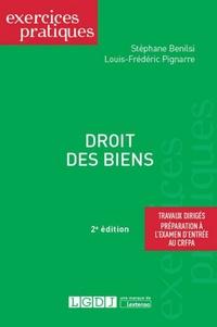 Stéphane Benilsi et Louis-Frédéric Pignarre - Droit des biens.