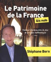 Stéphane Bern - Le patrimoine de la France pour les nuls.