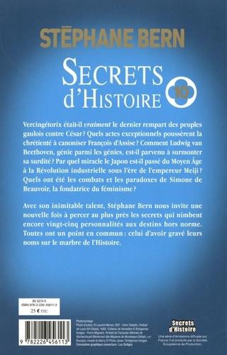 Secrets d'Histoire. Tome 10