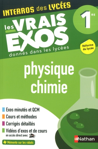 Physique-chimie 1re  Edition 2019