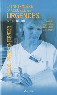 Stéphane Boizat et Nelly Décréau - L'infirmière d'accueil aux urgences - Guide de tri.