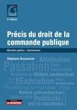 Stéphane Braconnier - Précis du droit de la commande publique - Marchés publics - concessions.