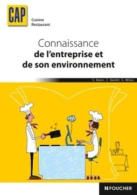 Stéphane Bujoc et Catherine Bastet - Connaissance de l'entreprise et de son environnement CAP Cuisine Restaurant.