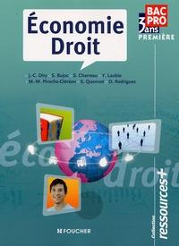 Stéphane Bujoc et Sylvie Charreau - Economie Droit 1re Bac Pro Ressources+.