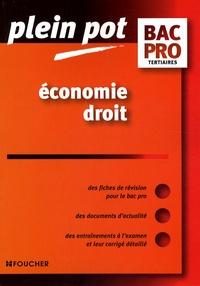 Stéphane Bujoc et Jean-Michel Maury - Economie Droit Bac Pro tertiaires.