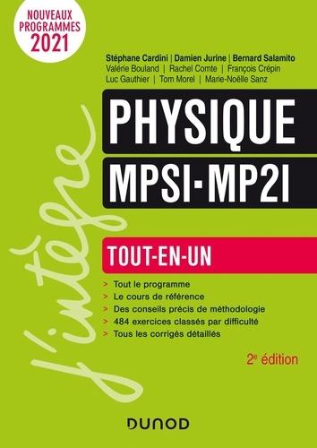 Stéphane Cardini et Damien Jurine - Physique MPSI-MP2I - Tout-en-un.