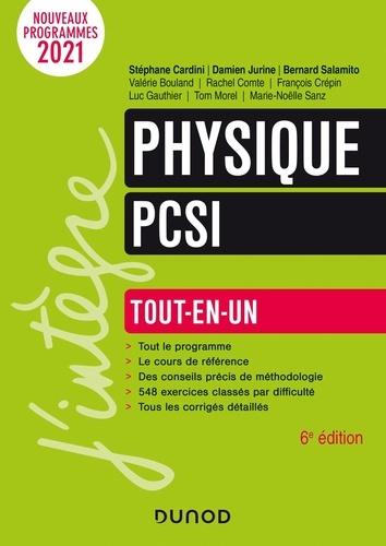 Stéphane Cardini et Damien Jurine - Physique PCSI - Tout-en-un.