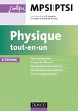 Bernard Salamito et Stéphane Cardini - Physique tout-en-un MPSI-PTSI - 2e éd.