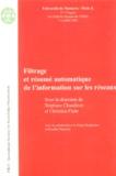 Stéphane Chaudiron - Filtrage et résumé informatique de l'information sur les réseaux - 3e Congrès du Chapitre français de l'ISKO 5-6 juillet 2001.