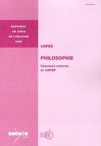 Stéphane Chauvier - CAPES Philosophie - Concours externe et CAFEP.