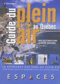 Stéphane Corbeil - Guide du plein air au Québec - 450 destinations quatre saisons.